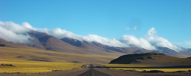 Ruta 60: lado argentino do Paso San Francisco