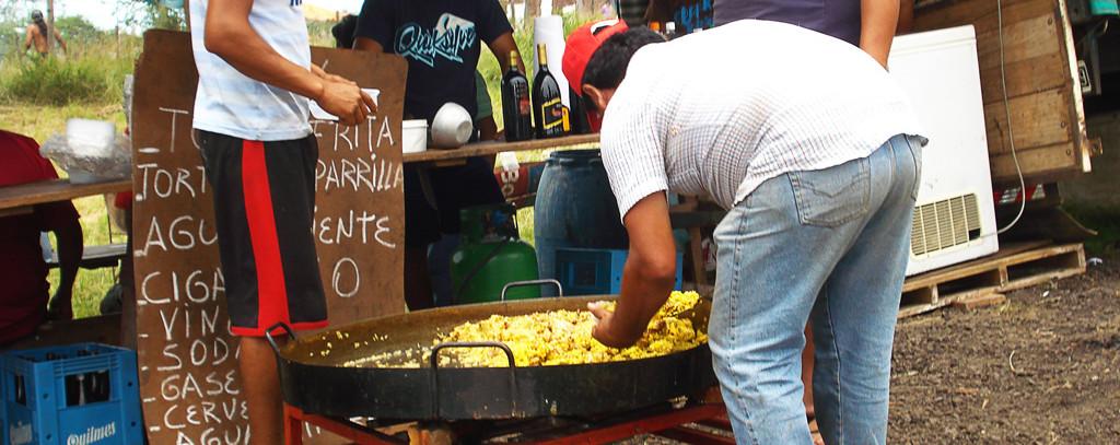 Festa em homenagem a Gauchito Gil em Mercedez/Argentina