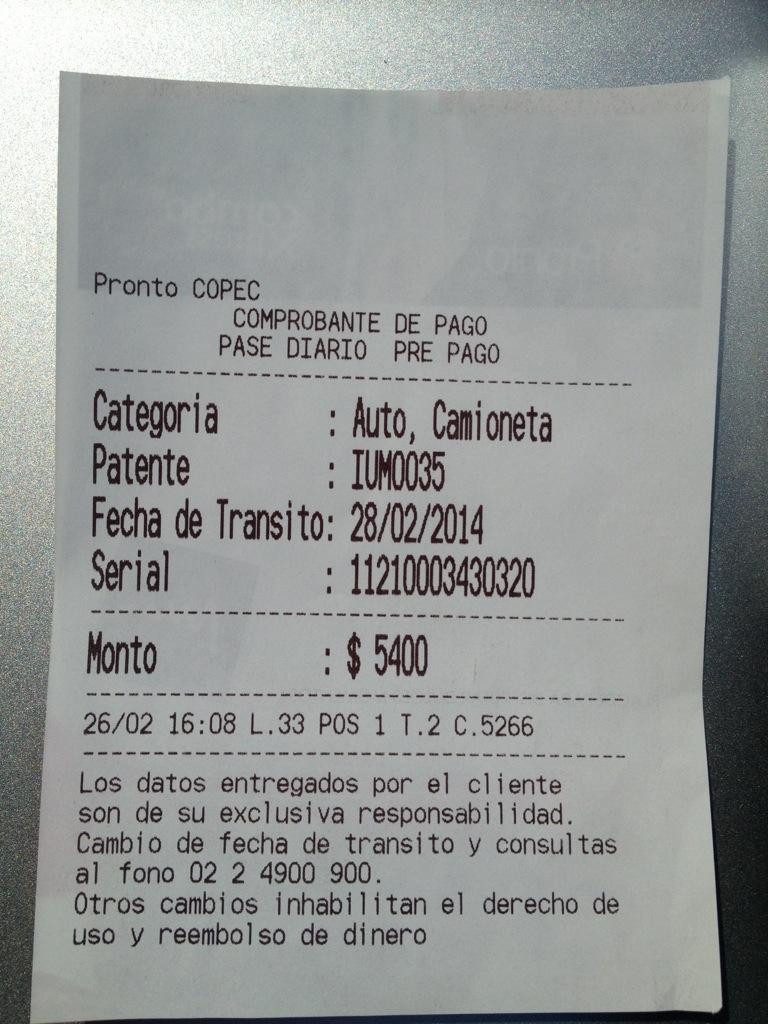 Pase Diario Único (PDU)