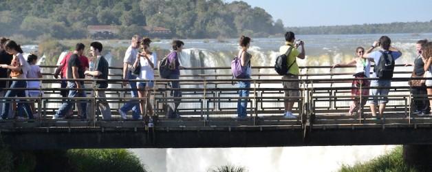 Parque Nacional Iguazú (Argentina): a visão das cataras da passarela é impressionante