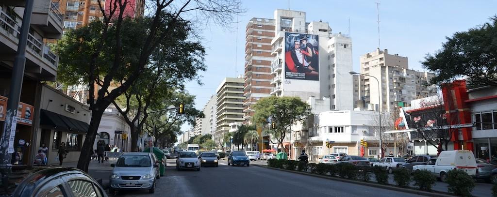 Avenida Pellegrini em Rosário