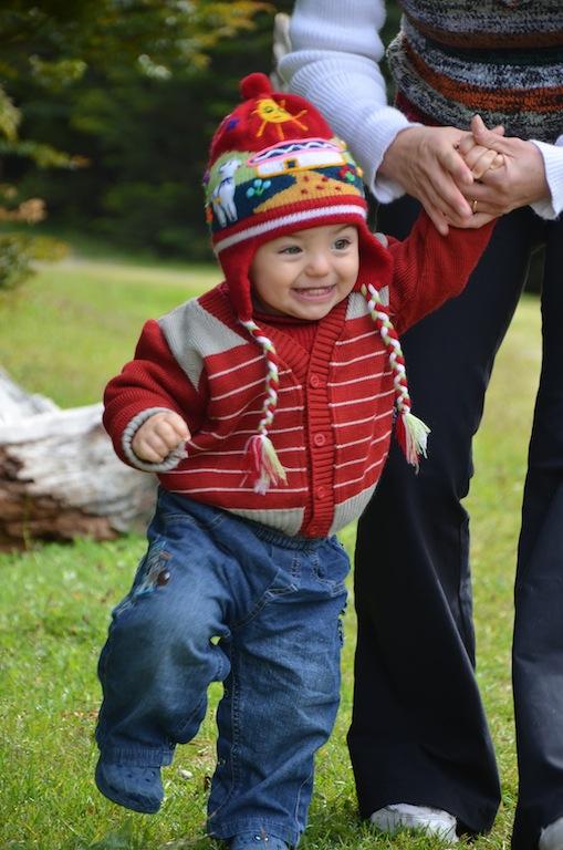 Felipe passeando pelo Parque Nacional Tierra del Fuego