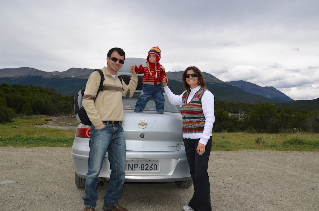 Final da ruta 3 dentro do Parque Nacional Tierra del Fuego: ponto mais ao extremo sul do continente que se consegue chegar de carro
