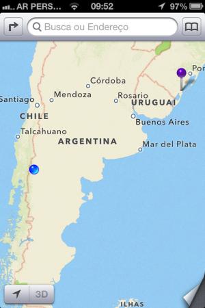 Onde estamos: Parque Nacional Lanin (Junin de Los Andes/Argentina)