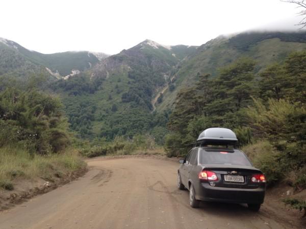 Parque Nacional Lanin pela ruta RP 62