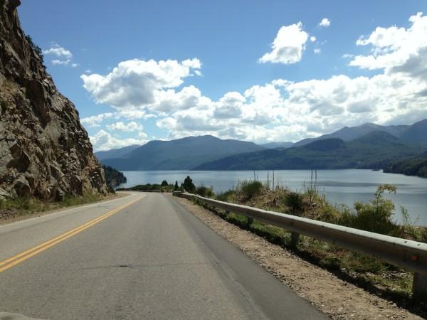 Lago Lácar em San Martin de Los Andes