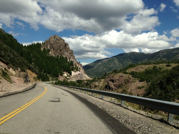 Ruta dos Sietes Lagos entre San Martin de Los Andes e Villa La Angostura