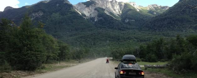 Ainda restam cerca de 20km em rípio na Ruta dos Sietes Lagos
