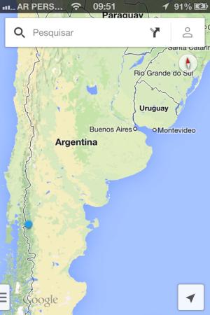 Onde estamos: El Bolsón/Argentina