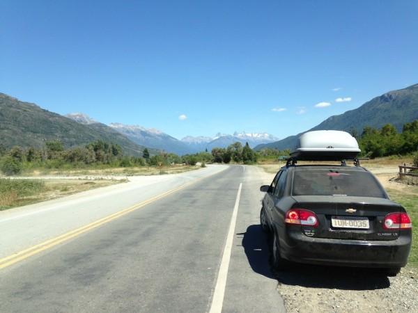 Ruta RP 16 até o Lago Puelo