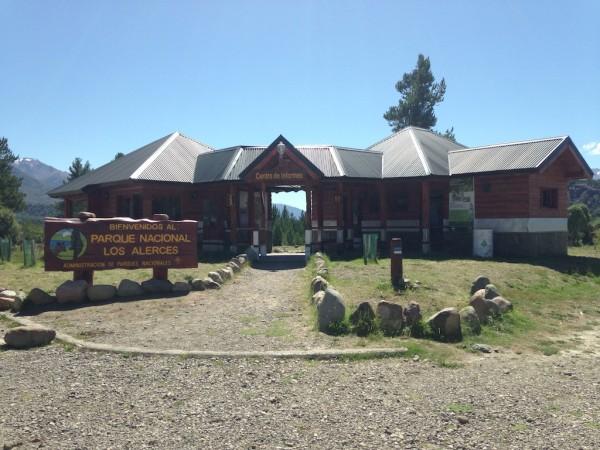 Centro de informações turísticas do Parque Nacional Los Alerces
