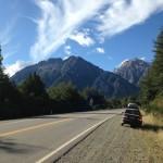 Ruta RN40 próximo a Bariloche