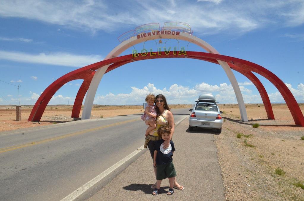 Bem vindos a Bolívia!