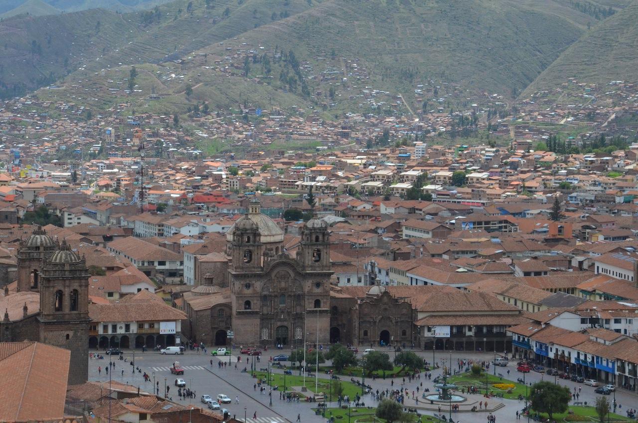 Praça de Armas de Cusco/Peru