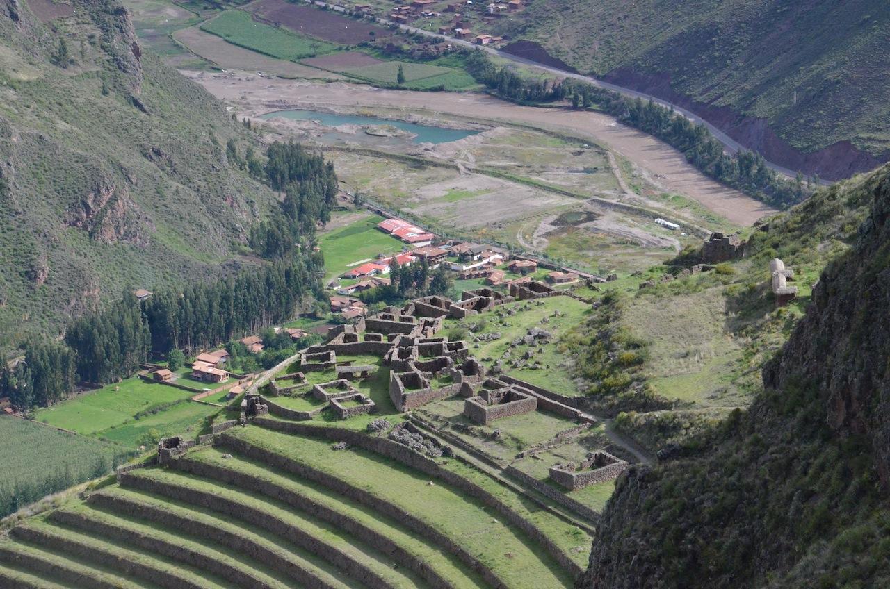 Sítio arqueológico de Pisac (Cusco/Peru)