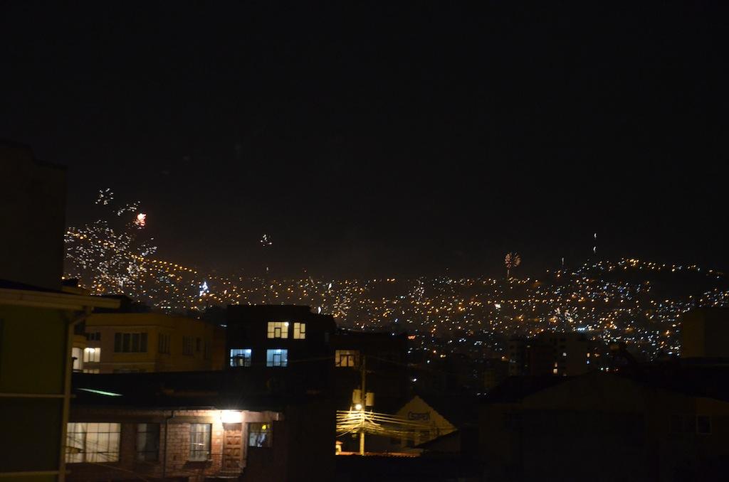 Reveillon em La Paz (Bolívia)