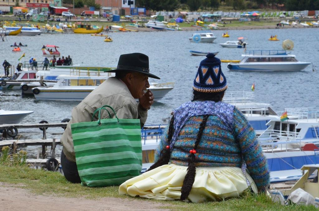 Lago Titicaca (Copacabana /Bolívia)