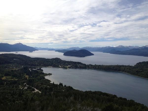 Paisagens vistas do Cerro Campanário
