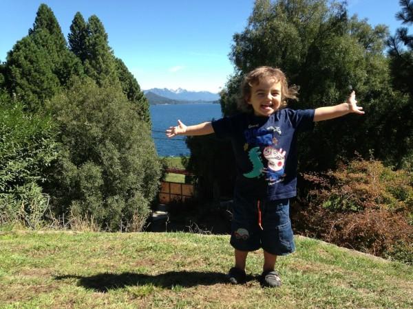Nos despedindo de Bariloche