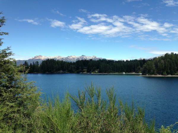 Lago Nahuel Huapi em Villa La Angostura
