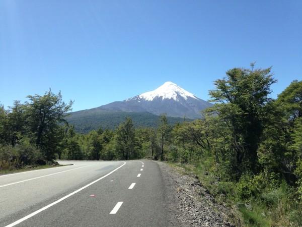 Rumo ao vulcão!