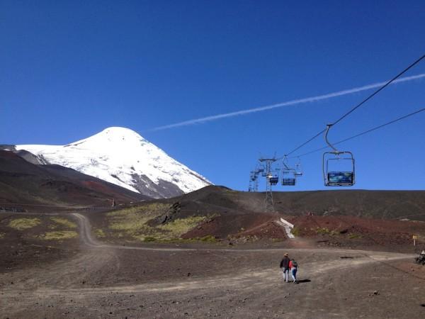 Teleférico do Centro de Ski y Montaña Volcán Osorno