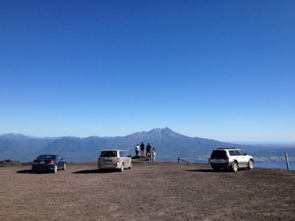 Estacionamento do Centro de Ski y Montaña Volcán Osorno
