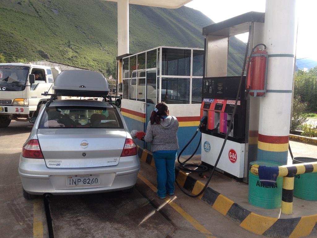 Abastecendo no Peru