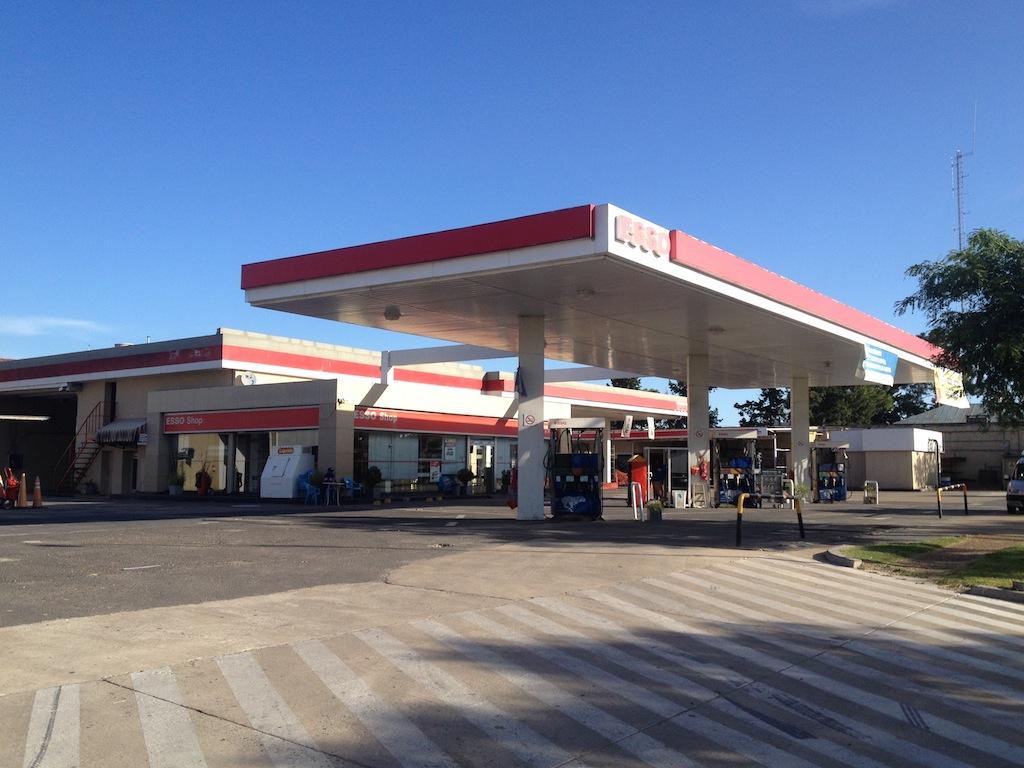 Posto da rede Esso (Santa Fe/Argentina)