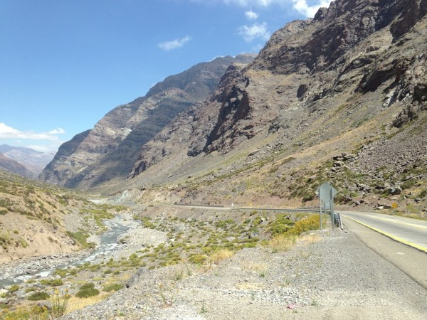 Ruta 60/Chile (Paso Internacional Los Libertadores)