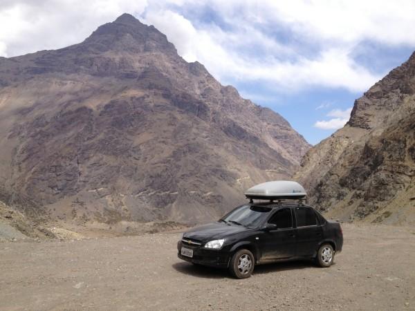 Atravessando as Cordilheiras dos Andes