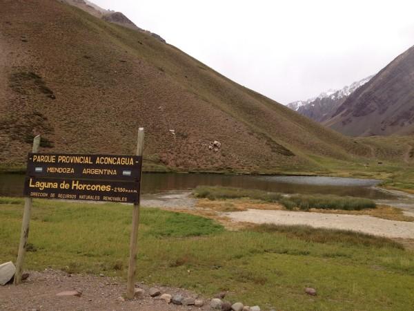 Laguna de Orcones/Parque Provincial Aconcagua