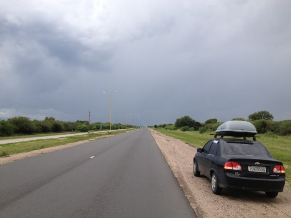 Chuva pela frente