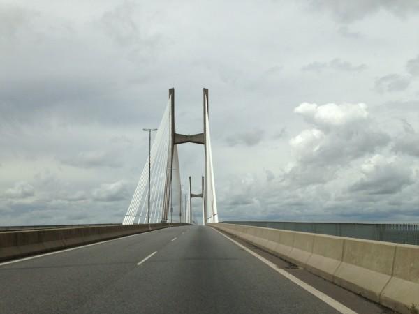 Ponte Nuestra Señora del Rosario sobre o Rio Paraná