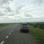 Viajando de carro!