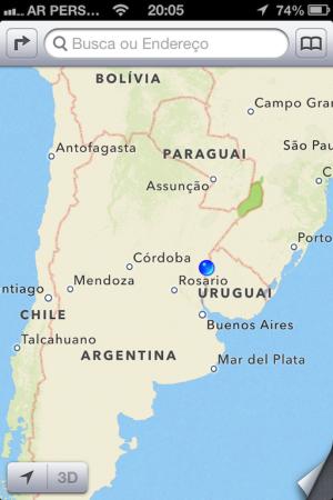 Onde estamos: Concordia/Argentina