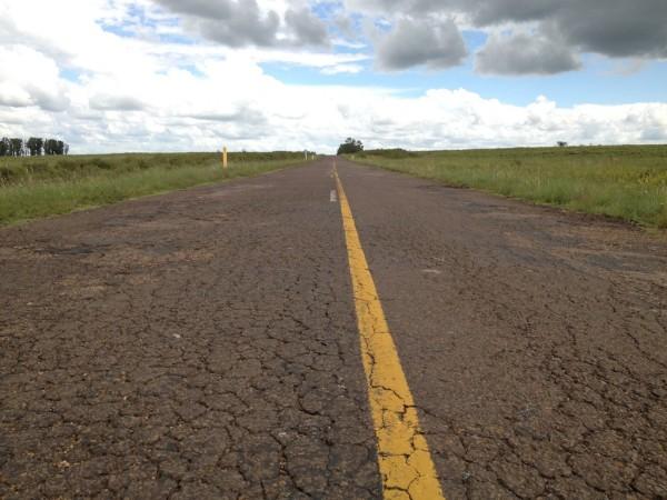 Condições razoáveis das estradas no Uruguai