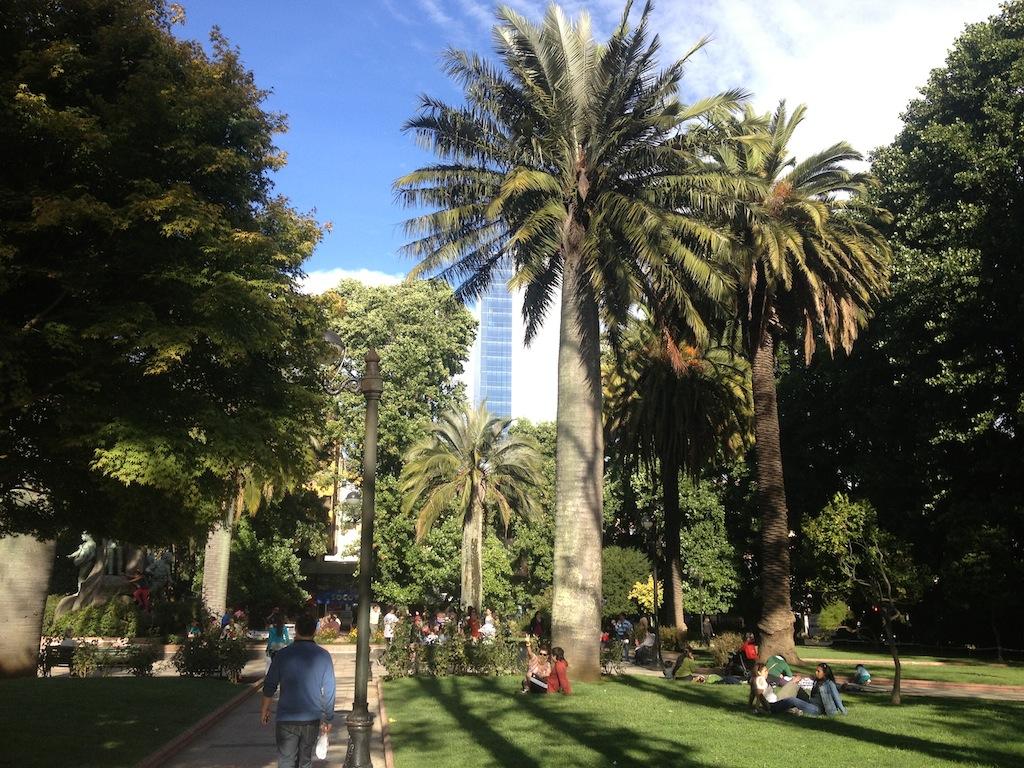 Parque em Temuco/Chile