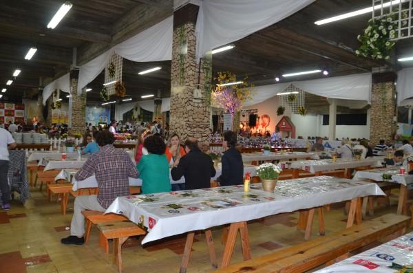 Salão do buffet