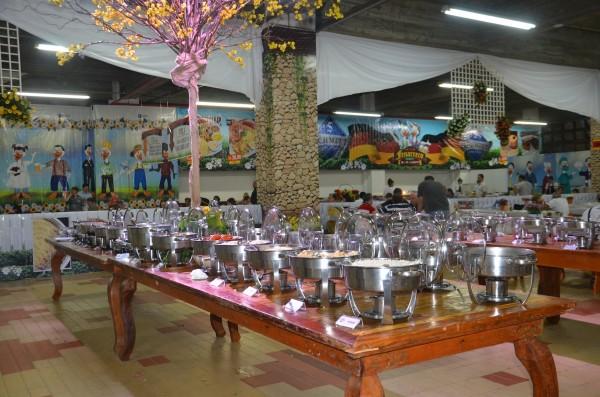 O buffet maravilhoso da Fenarreco
