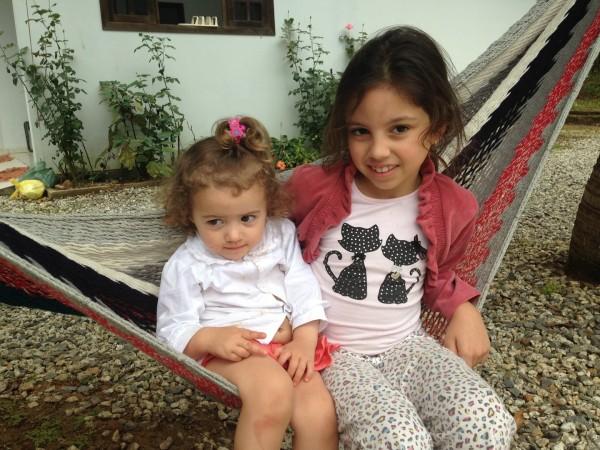 As meninas!